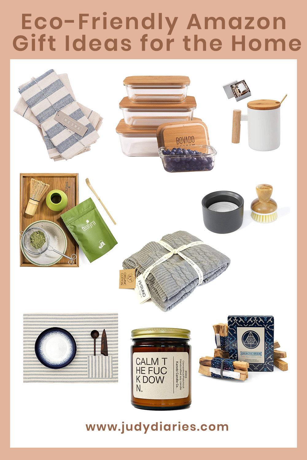 eco friendly sustainable gift ideas for the home
