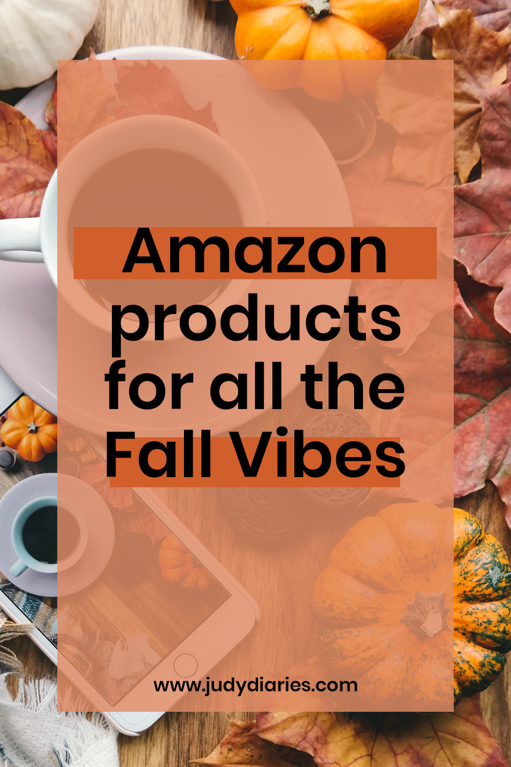 Amazon products for fall vibes mood