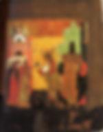 Индикт нового лета. Икона XVI–XVII вв. Государственный Русский музей, Санкт-Петербург