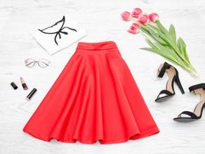 Faldas | 10 Outfits con faldas para una navidad en casa.