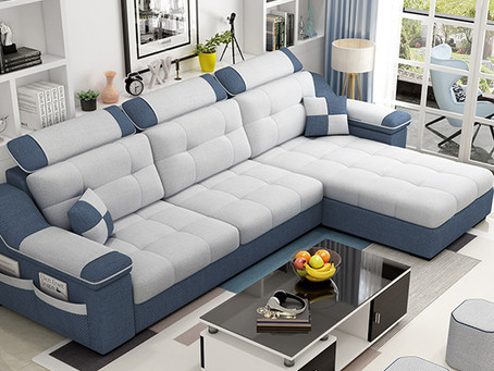 El Sofá en forma de L ideal para tu sala.