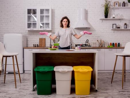Contenedores de basura: su empleo en la cocina.