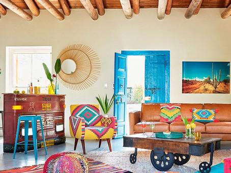 Un toque artesanal en la decoración de tu hogar.