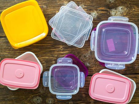 Cómo cuidar los recipientes plástico de cocina.