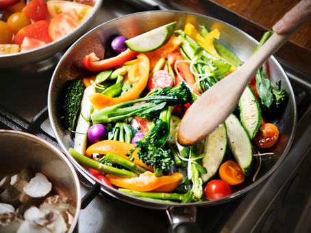 3 Ricas recetas para comer más verduras.