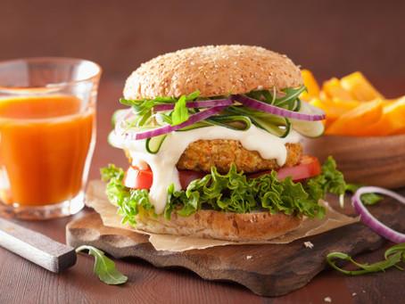 Cómo preparar hamburguesas veganas de forma saludable.