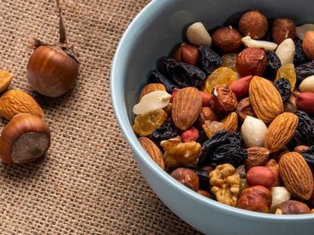 Beneficios de consumir frutos secos.
