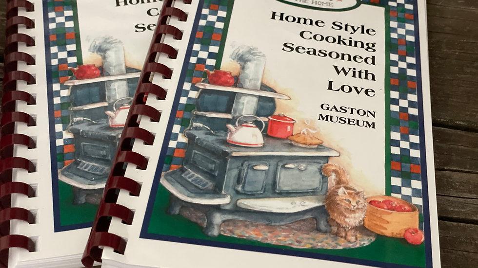 """""""Seasoned With Love"""" Cookbook"""