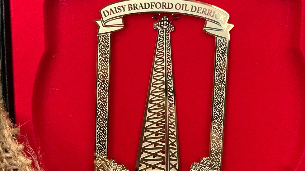 Daisy Bradford Commemorative Ornament