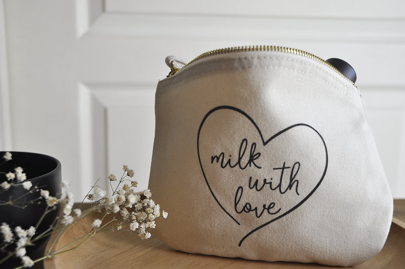 "Trousse ""milk with love"""