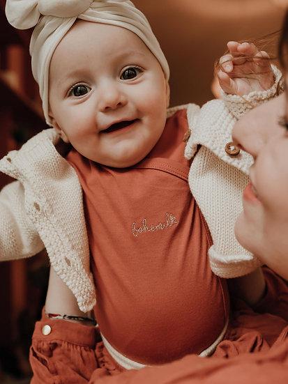 Body baby Bohémilk 100% coton bio