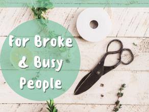 3 Craft Hobbies For Broke & Busy People!