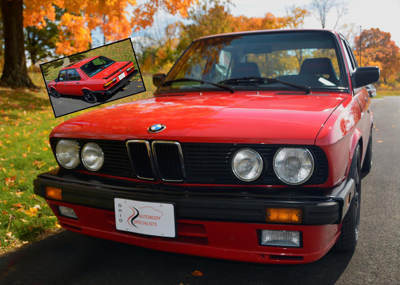 II 1987 BMW 535 is