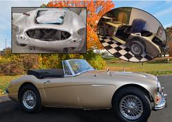 GG 1958 Austin Healy 3000 June