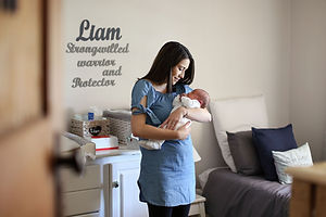 Lifestyle newborn shoot by Anel Nortie Photography