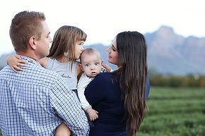 Allee Bleue Family Shoot