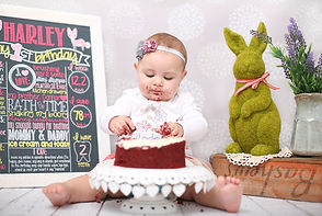 Cake Smash by Anel Nortier Photography