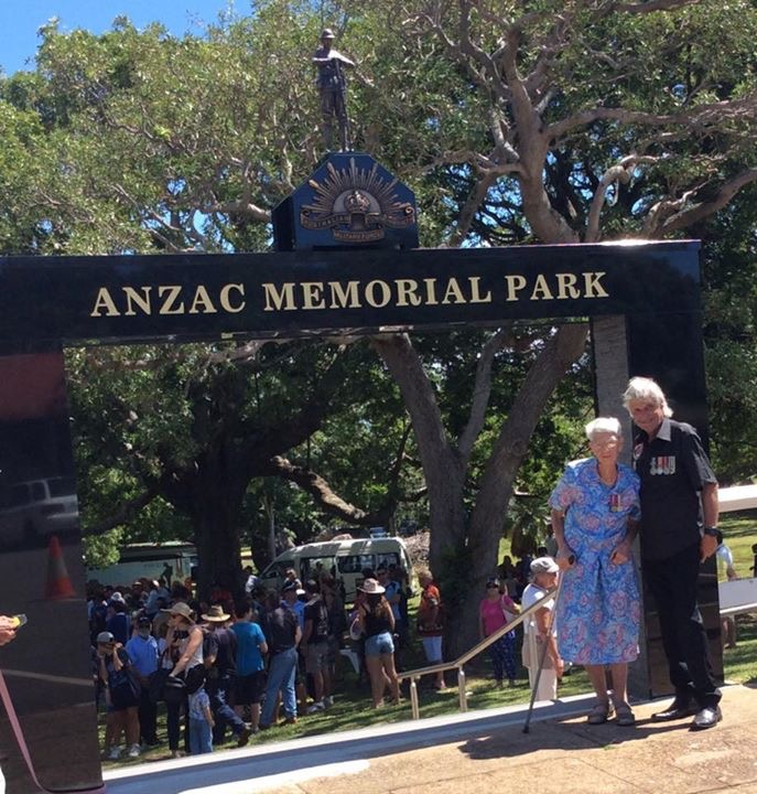 Official opening of the new arch
