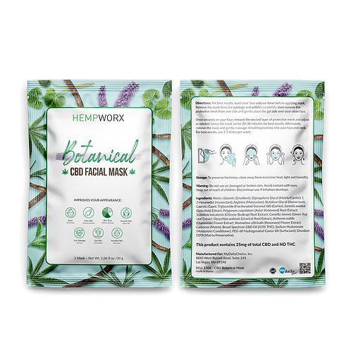 CBD Botanical Facial Mask by Hempworx