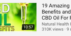 Everyday I am more and more amazed with the wonderful CBD