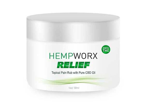 Hempworx Relief 80mg Topical Creme 30 ml