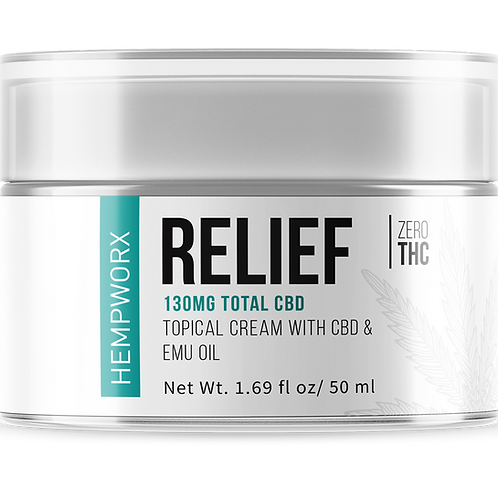Relief Topical Creme with CBD 130 mg