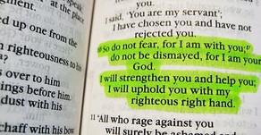 A wonderful teaching to expel fear