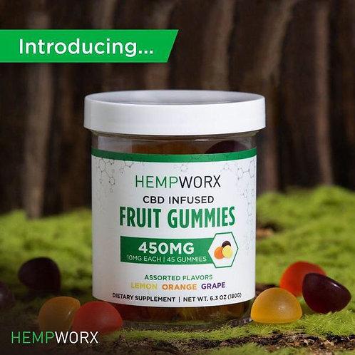 Hempworx Fruit Gummies