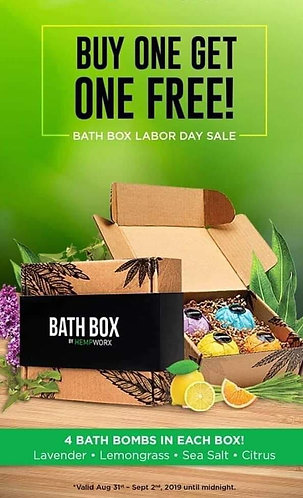 Bath Box Labor Day Sale