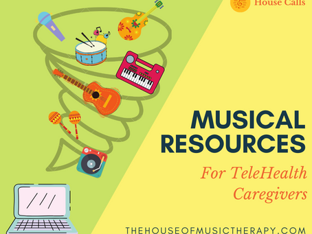 Music Resources for Telehealth Caregivers