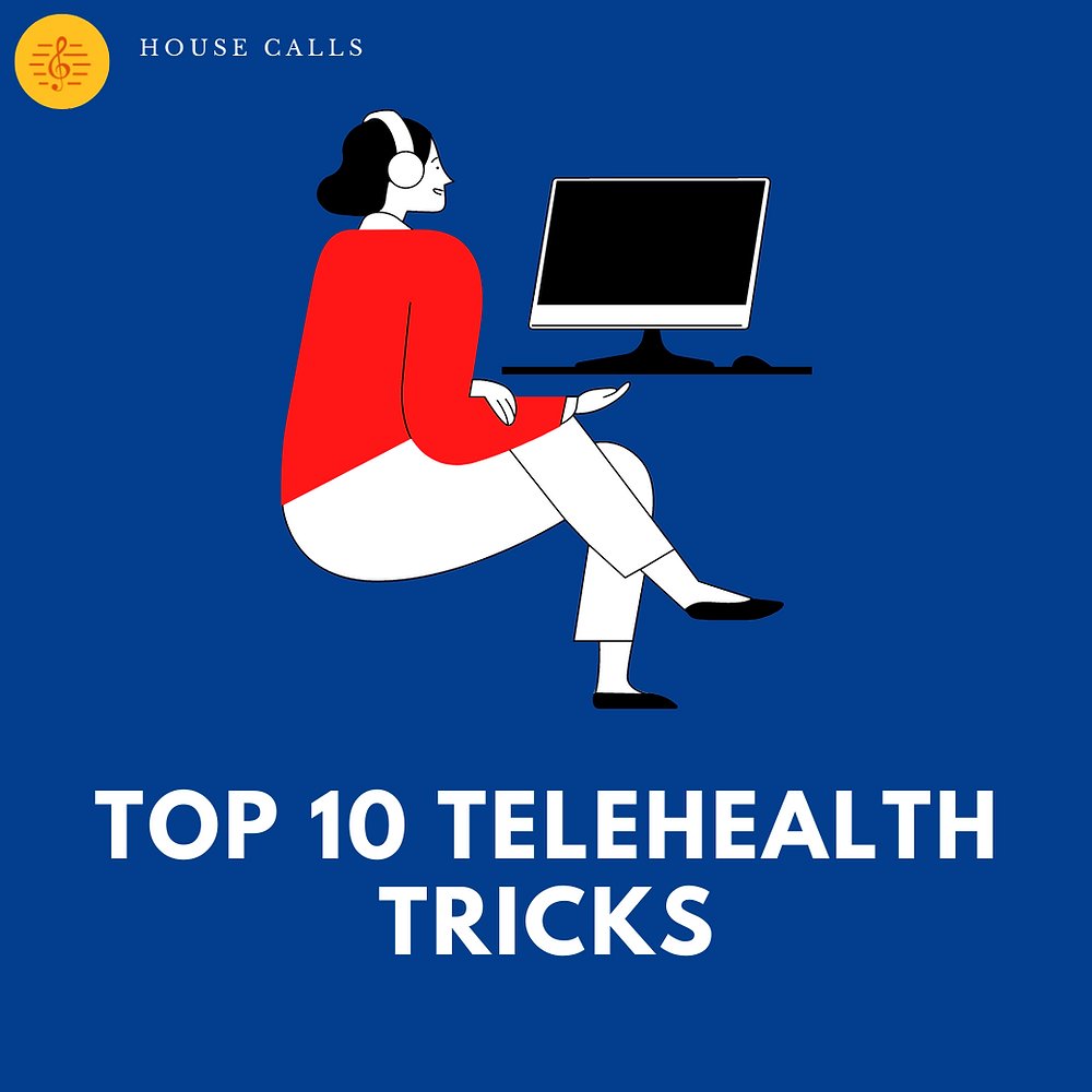 Top 10 Music Therapy Telehealth Tricks