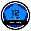 12 year warranty