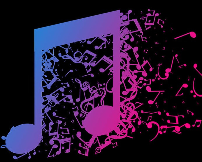 colorful-music-notes-gradient-ombre-musi