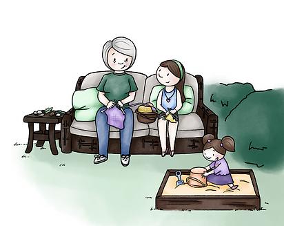Grandma Bea_Pg 17 and 18_knitting time_C