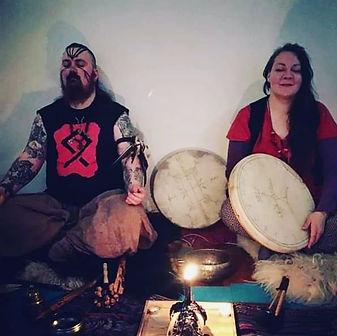 shamanic ritual pagan asatru northern shamanism