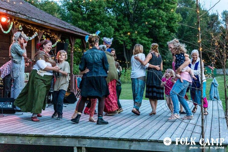 Folk Camp Dance 1 2019