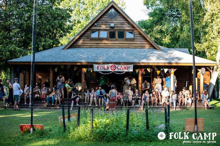 Folk Camp house 2019