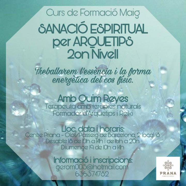 2on Curs: Sanacio Esperitual