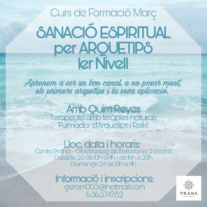 1er Curs: Sanacio Esperitual