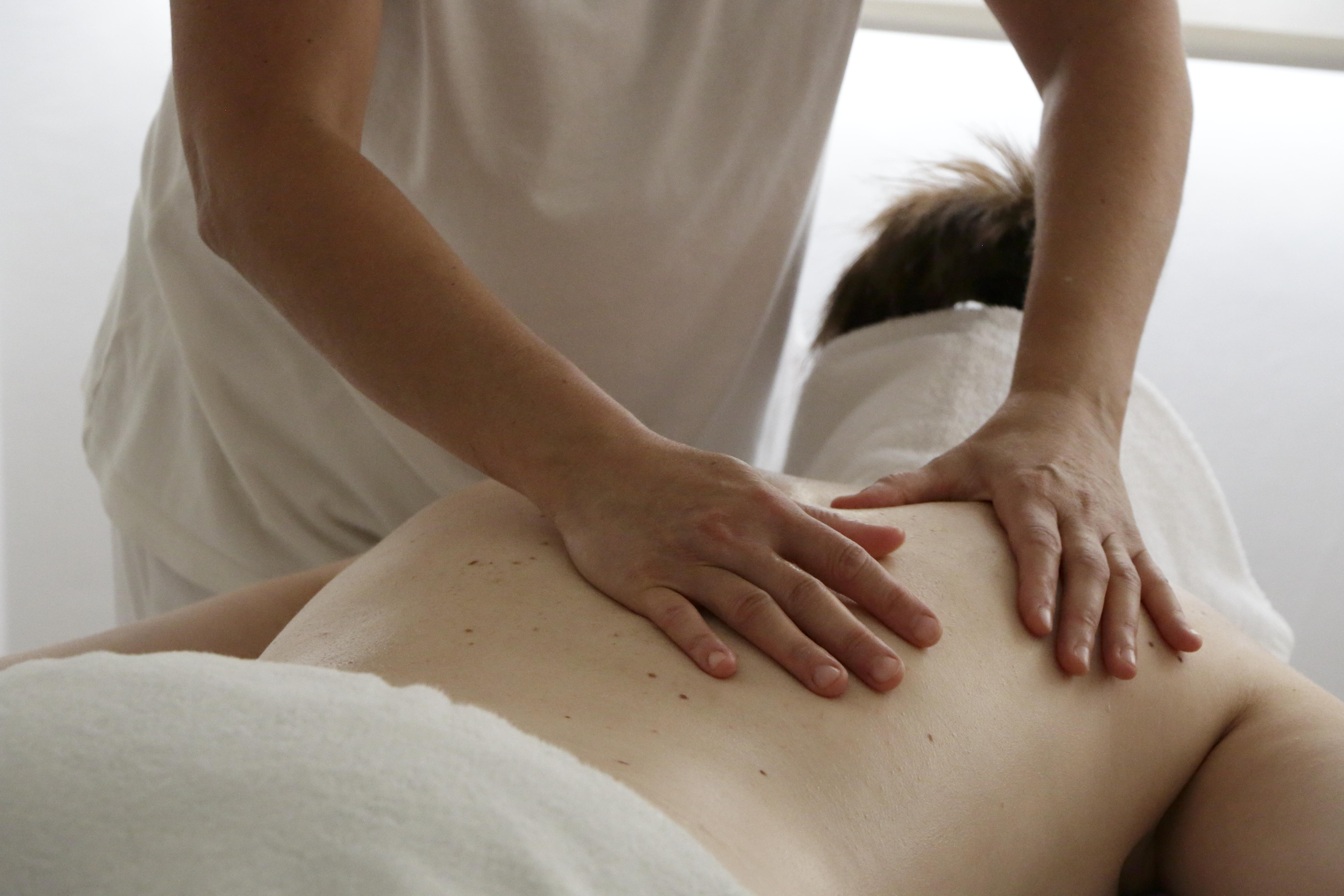 Com treballo: el massatge