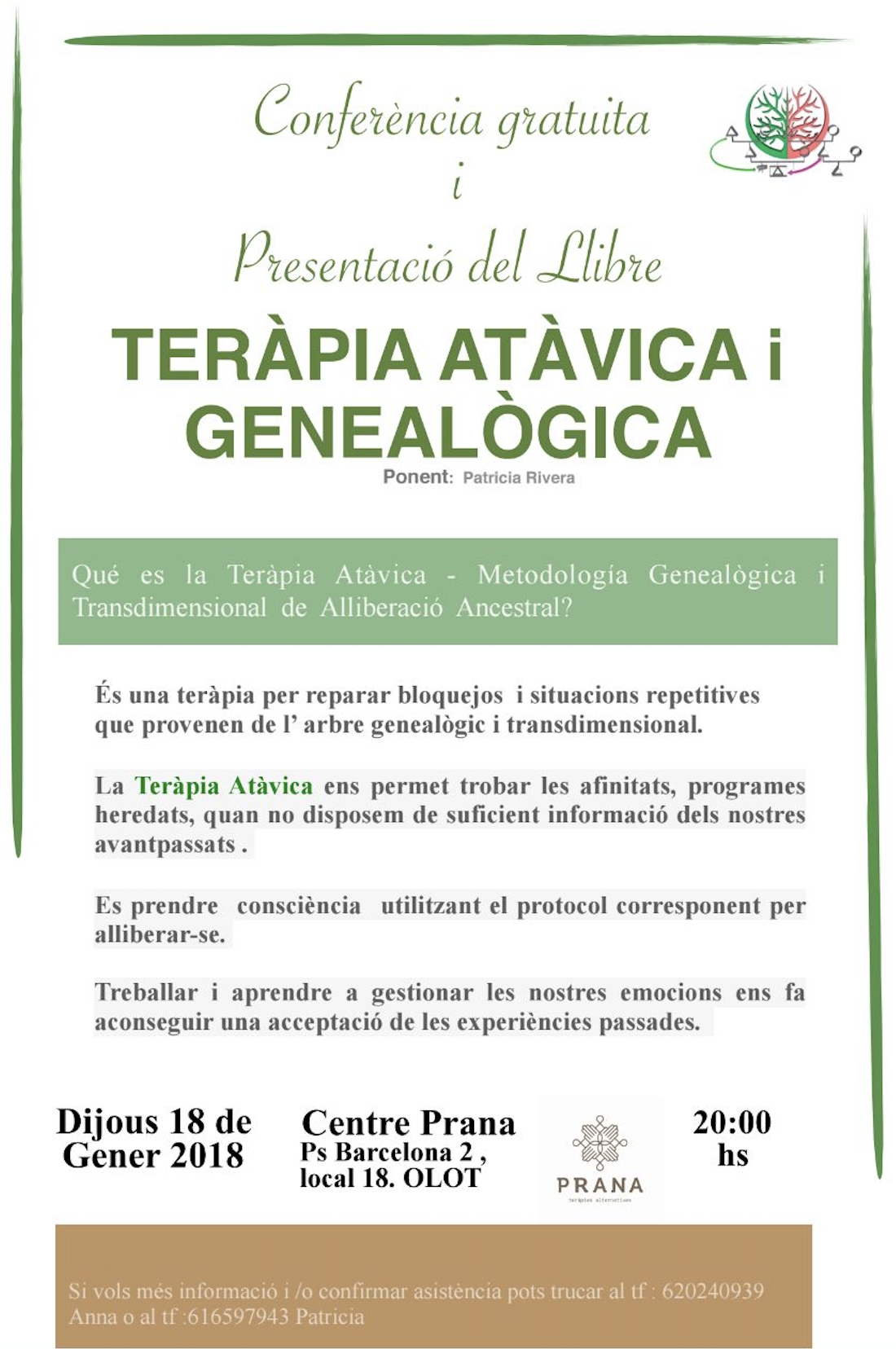Teràpia Atàvica i Genealògica