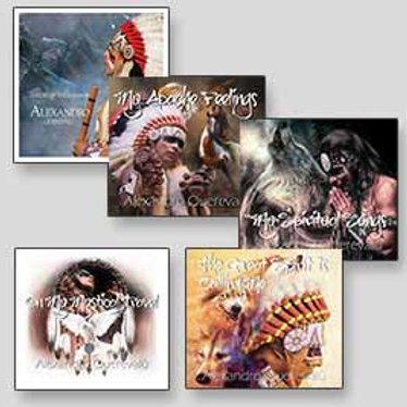 Bundle Offer- Alexandro Querevalu 5 CDs