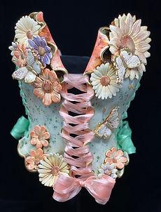 New Beginnings wearable ceramic corset