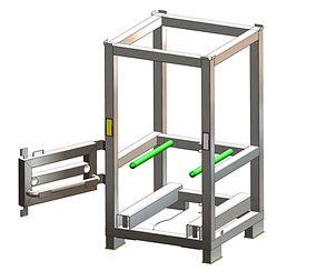 2.0 - Assembly Blend Frame 400ltr. IBC w