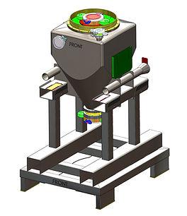 3.0 Assembly 200ltr. 30deg IBC with Samp