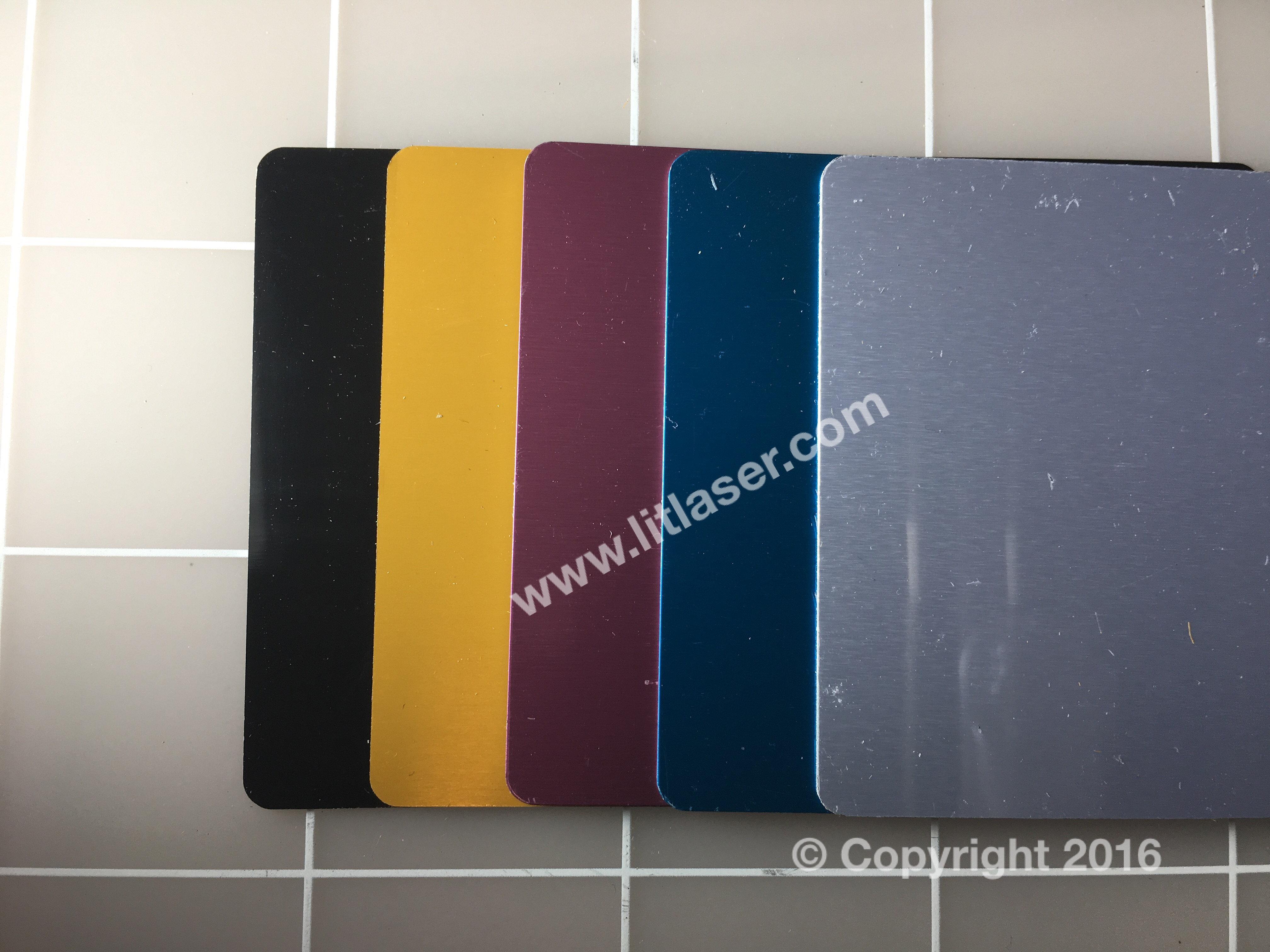 Metal laser engravable business card blanks thick 100ea laser engravable business cards painted reheart Images