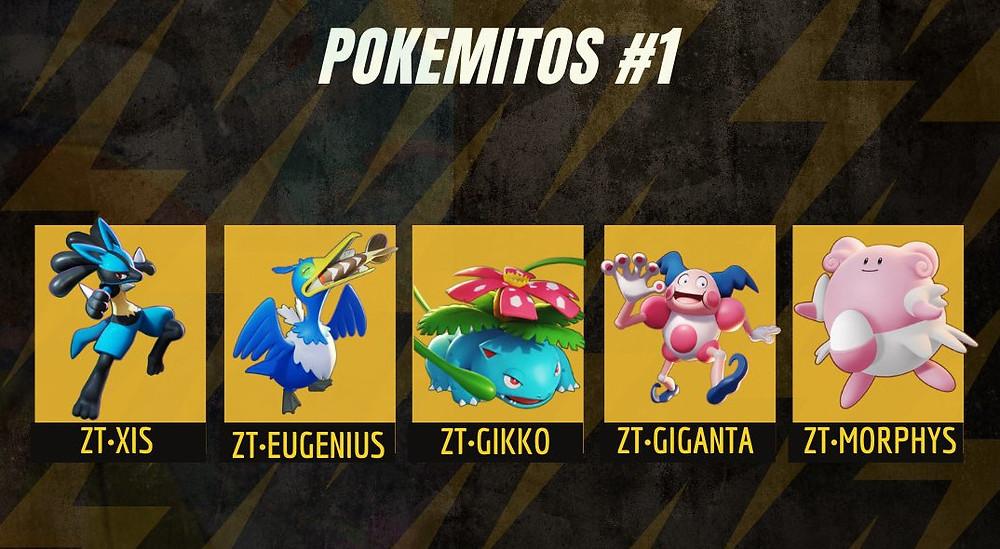 pokemon unite pokemitos mitos xp zapdos thieves