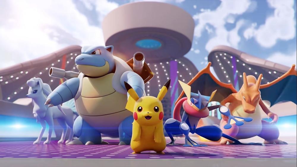 pokemon unite primeiro torneio oficial setembro