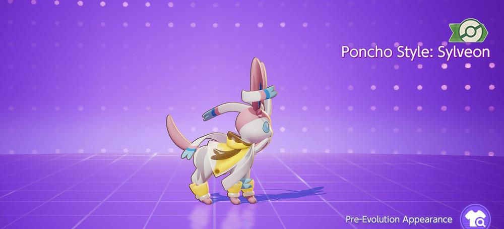 pokemon unite poncho style sylveon