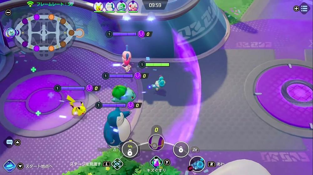 Pokemon unite elo partida